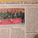 Überraschungserfolg der II. Herren beim Sparkassen-Cup